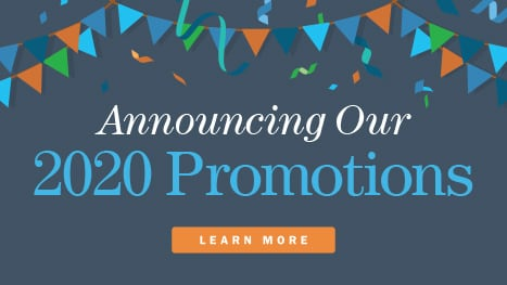 Announcing our 2020 promotions
