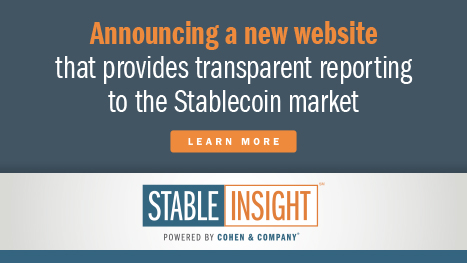 Announcing a new website that provides transparent reporting to the Stablecoin market.